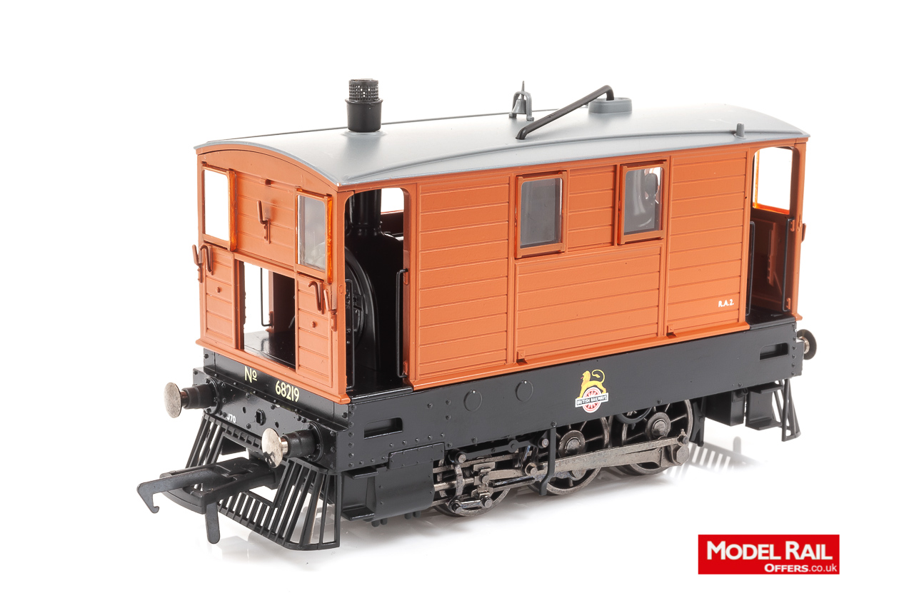 MR-201 Rapido LNER Class J70 Steam Locomotive number 68219 in BR livery with partial skirts