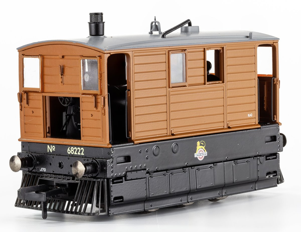 MR-202 Rapido LNER Class J70 Steam Locomotive number 68222 in BR livery with early emblem and full skirts