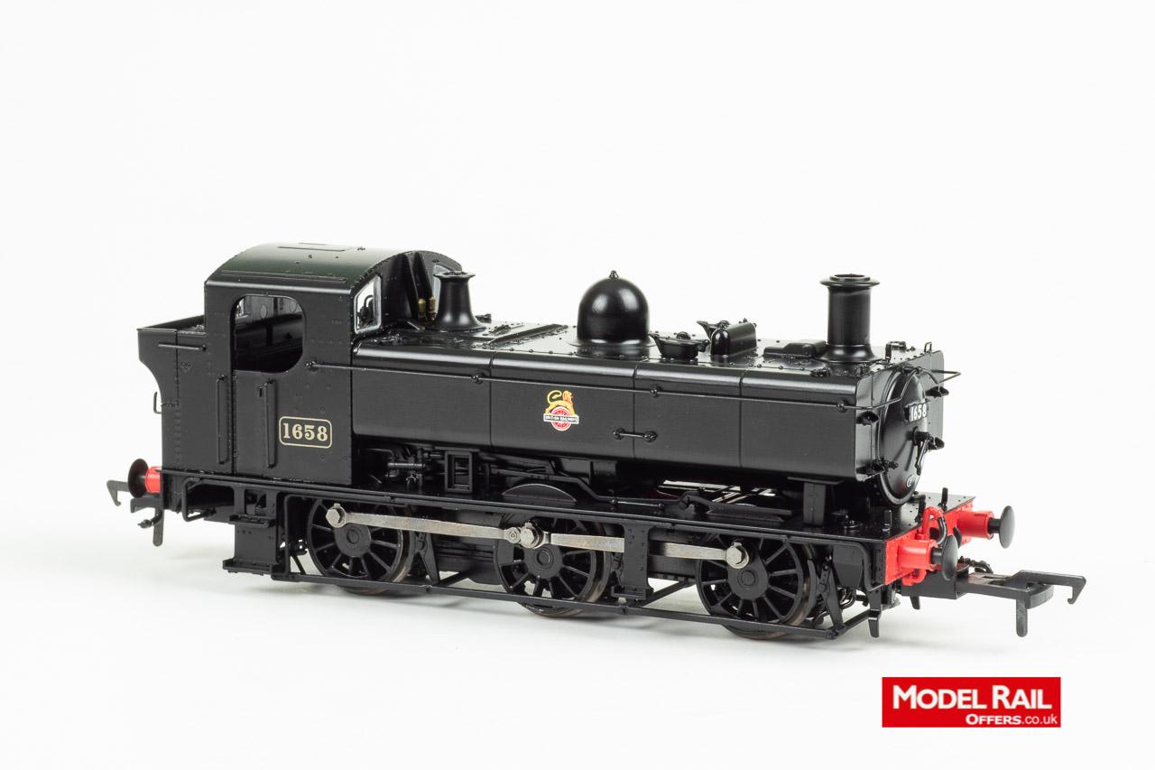 MR-301F MR Rapido Class 16XX Steam Locomotive number 1658 82C