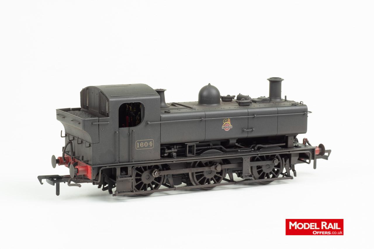 MR-303 Rapido Class 16XX Steam Locomotive 1604 weathered 89A