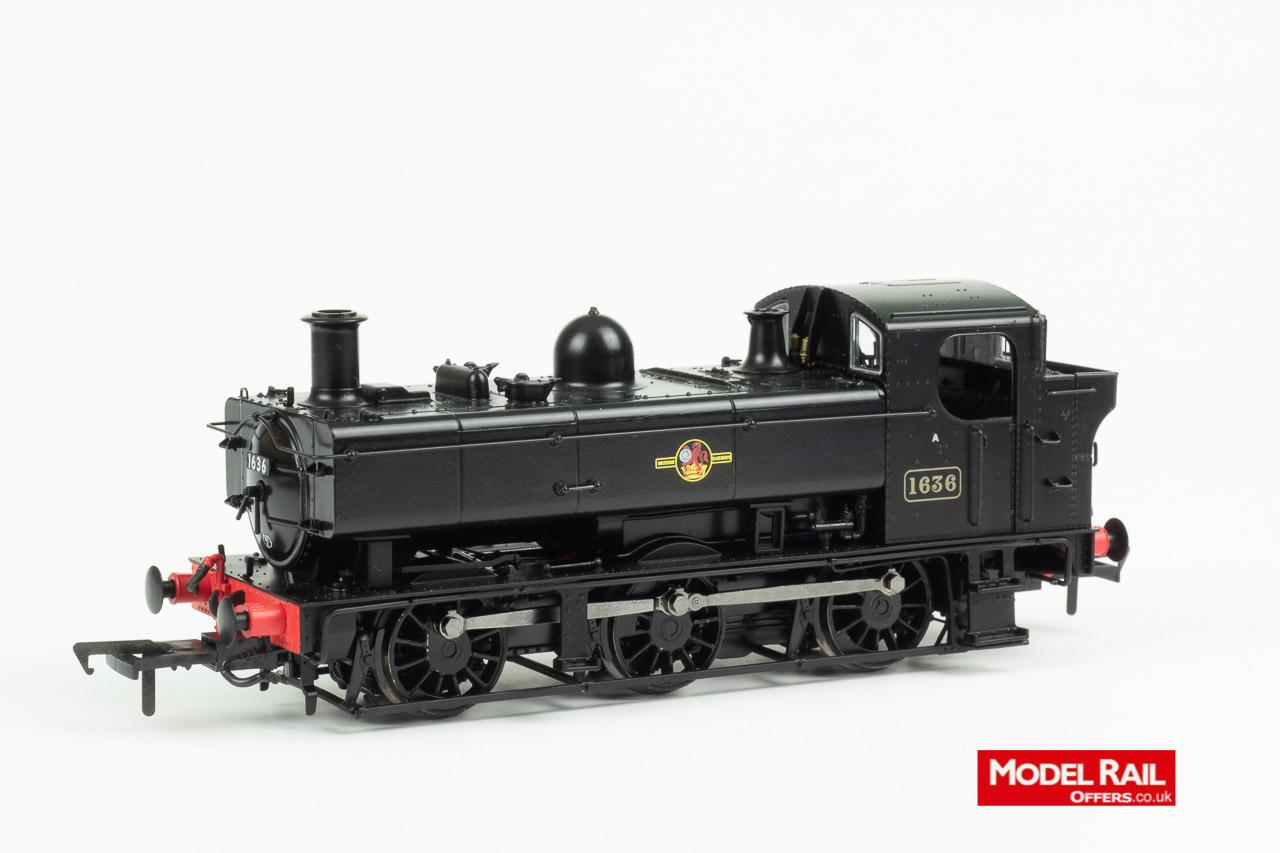 MR-304A Rapido Class 16XX Steam Locomotive number 1636 81B