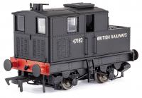 MR-015 Dapol Sentinel Steam Locomotive number 47182 in BR Black livery with BRITISH RAILWAYS lettering