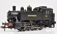 MR-102 Bachmann USA 0-6-0T Steam Locomotive number 68 in Southern Black livery with Sunshine lettering