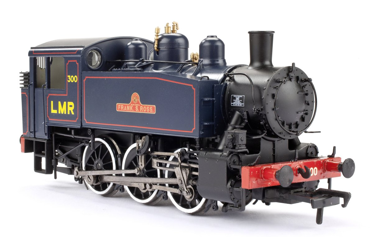 "MR-105 Bachmann USA 0-6-0T Steam Locomotive number 300 named ""Frank S Ross in Longmoor Military Railway livery"